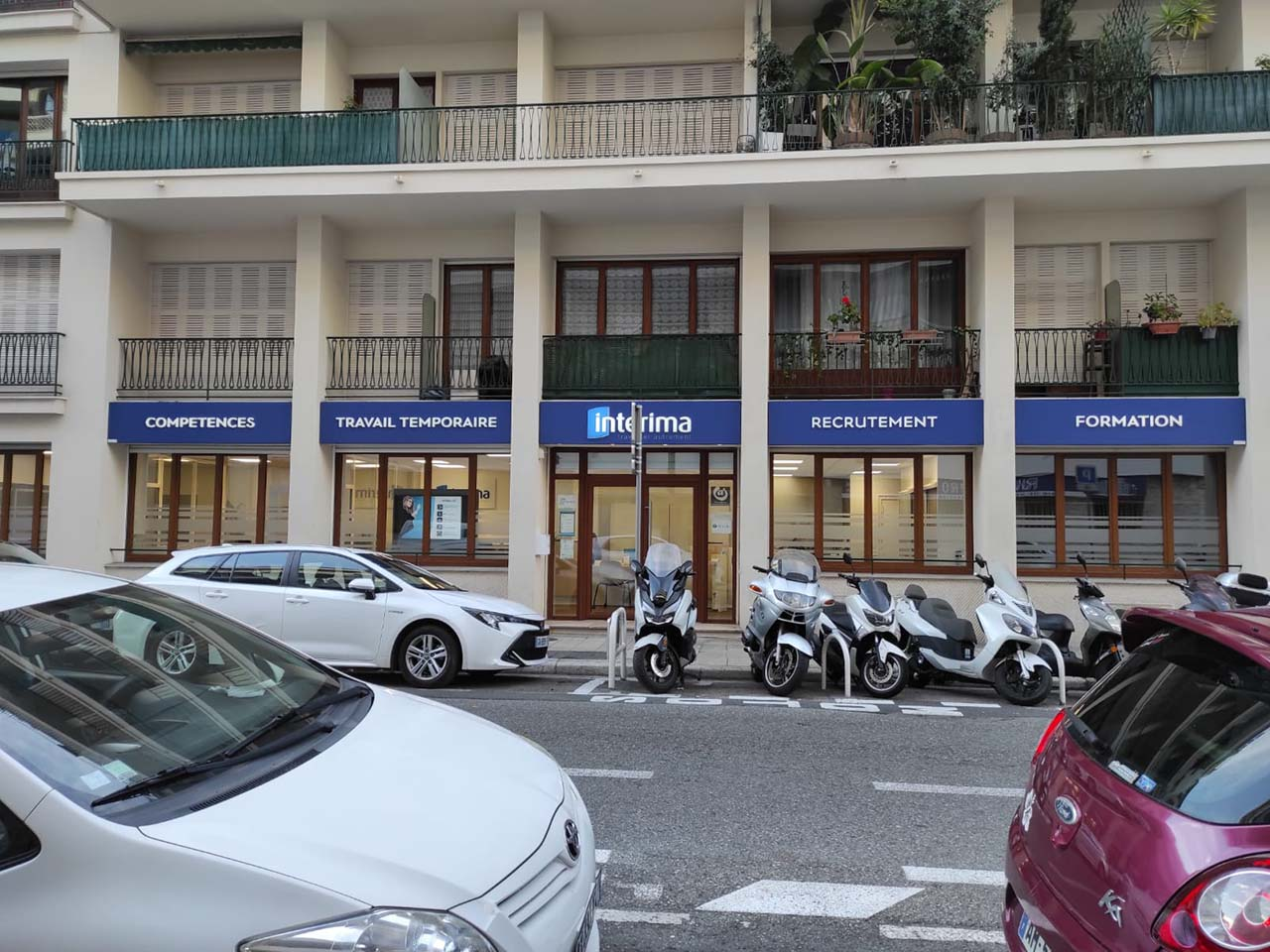 RDV au bureau de Nice